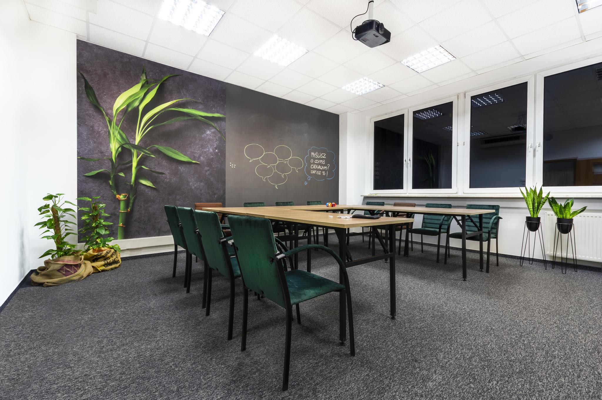 Sesja centrum szkoleniowo – konferencyjnego Green Business Center