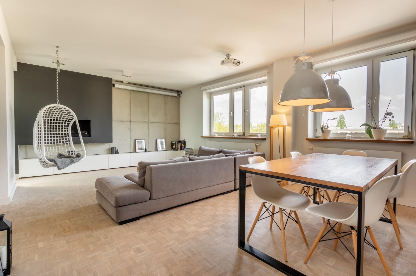 Mieszkanie architekta na Dolnym Mokotowie